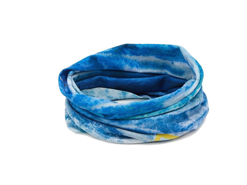 Bandana-tubolare-blu,-Buff