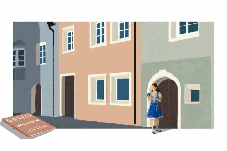 Cosa fare e vedere a Brunico, tra facciate colorate e botteghe