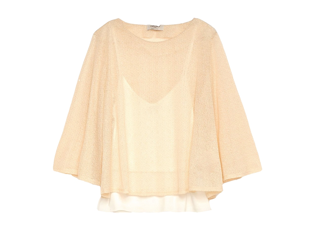 CAMOMILLA-T-shirt-over-samantha-in-lurex
