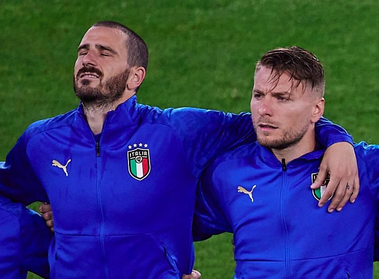 Cover calciatori euro 2020