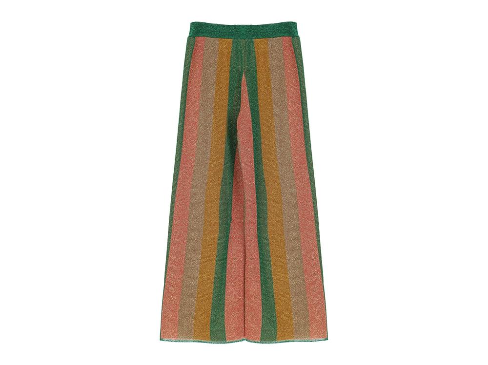 DIXIE-Pantalone-a-palazzo-fantasia-a-righe-multicolor-in-lurex