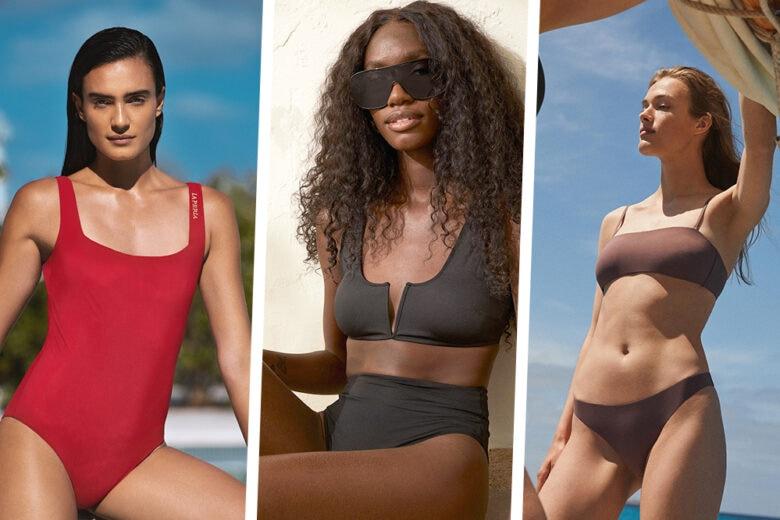 Costumi da bagno minimal: ecco le scelte più chic per l'estate