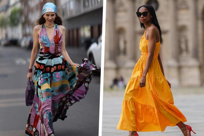 Maxi dress: 15 modelli da giorno da indossare adesso e per tutta l'estate