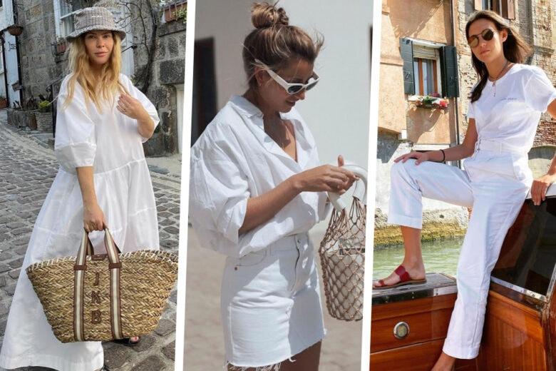 Il bianco è il colore dell'estate ed ecco come abbinarlo in 5 look davvero top!