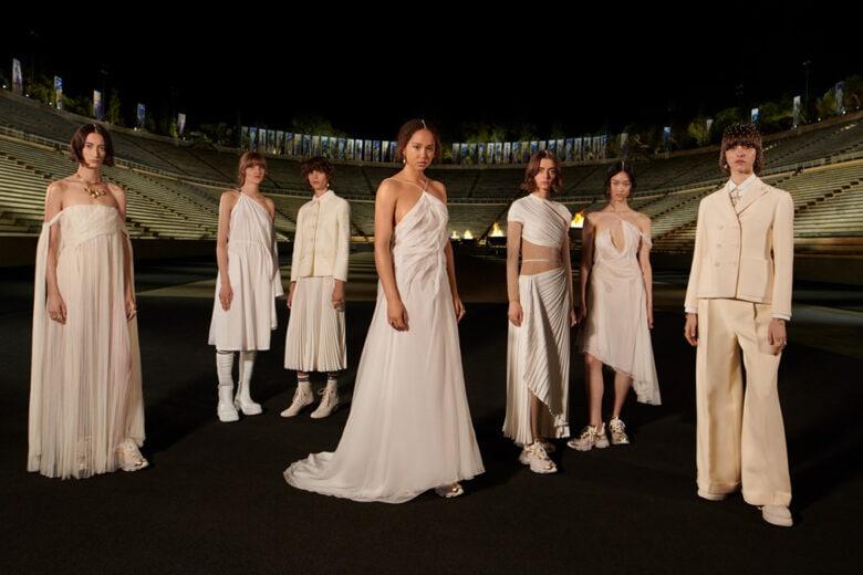 Dior: la collezione Cruise 2022 rende omaggio all'antica Grecia