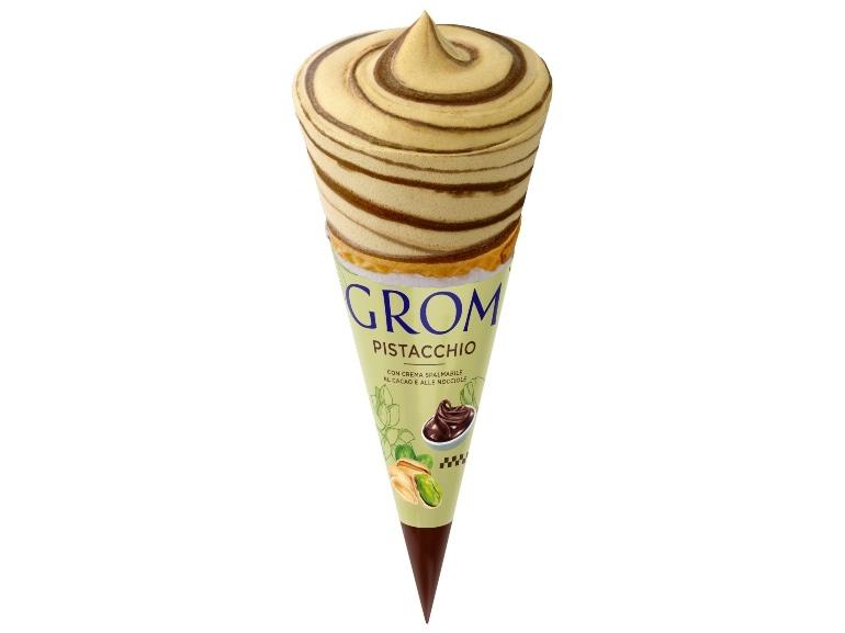Grom – Cono Pistacchio – Wrapped