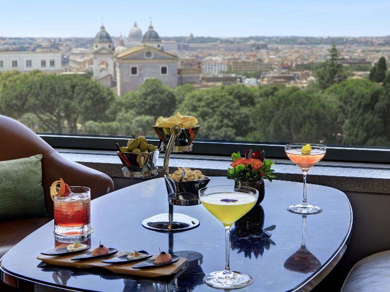 Hotel Eden Roma Il Giardino Bar aperitivo