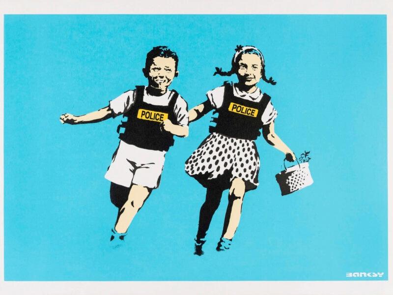 Jack Jill 2005 serigrafia su carta screenprint on paper Collezione privata