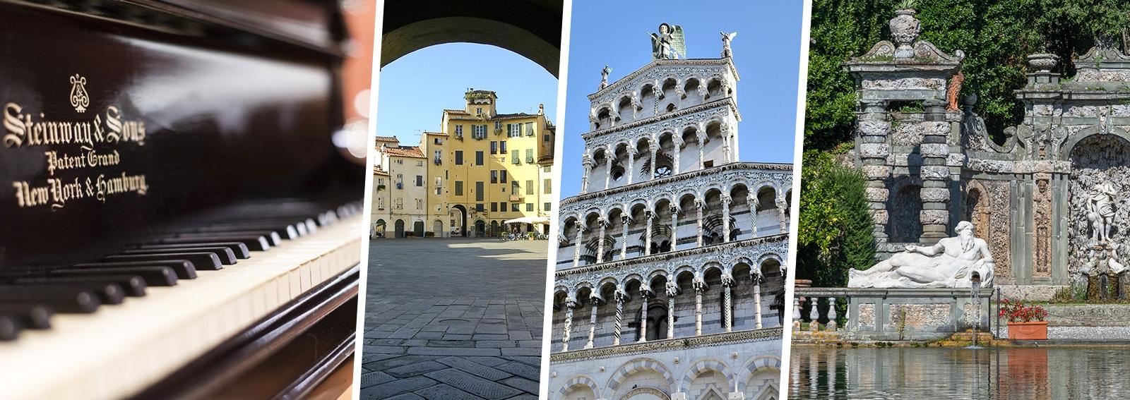 Lucca Versilia The Land of Giacomo Puccini DESK