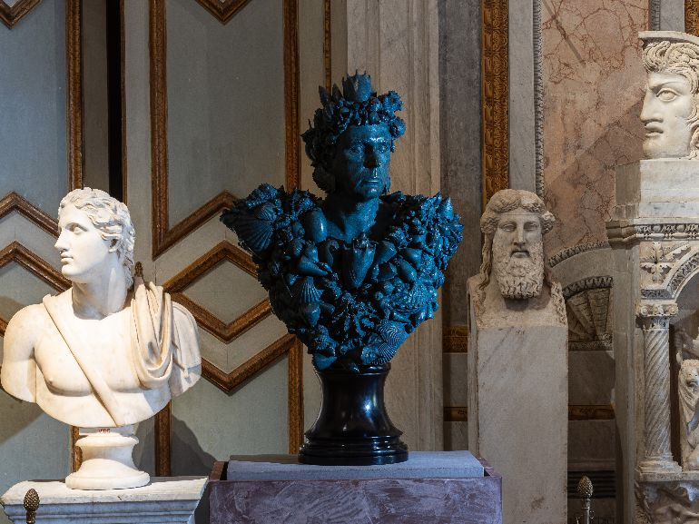 Neptune A Novelli Galleria Borghese Ministero della Cultura Damien Hirst and Science Ltd