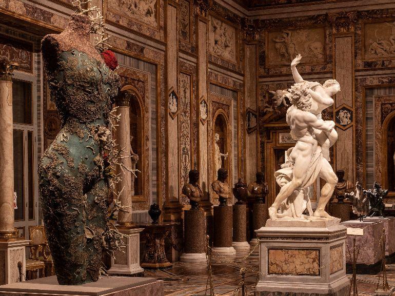 Ratto di Proserpina A Novelli Galleria Borghese Ministero della Cultura Damien Hirst and Science Ltd
