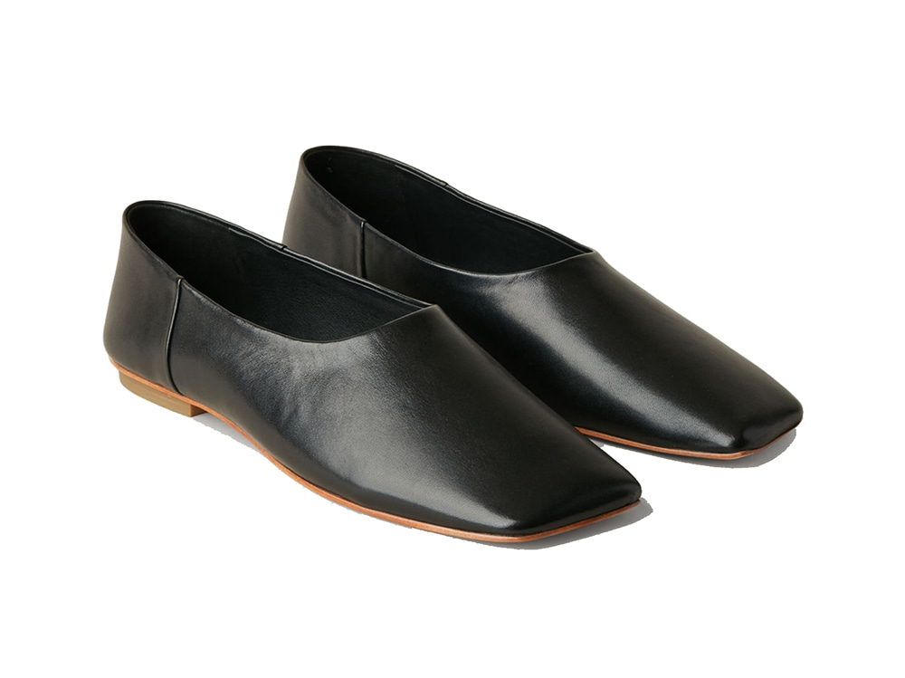 SQUARE-TOE-LEATHER-BALLERINA-SHOES-COS