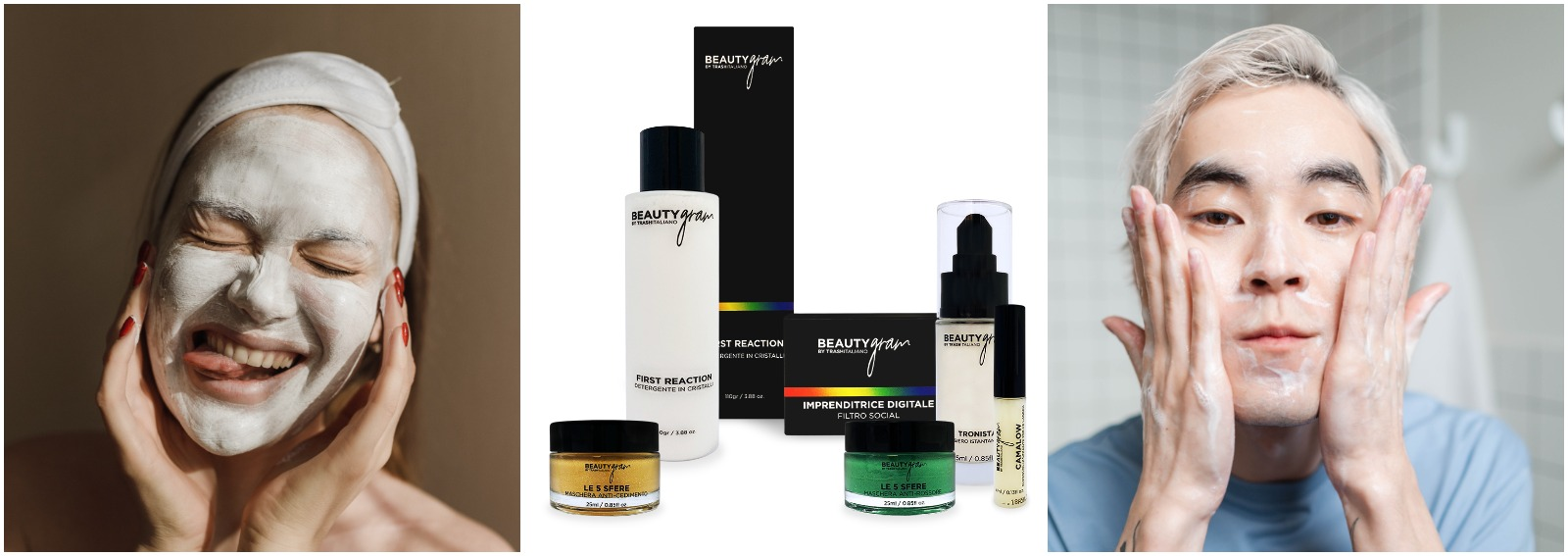 beautygram by trash italiano linea beauty skincare creme maschere cover desktop