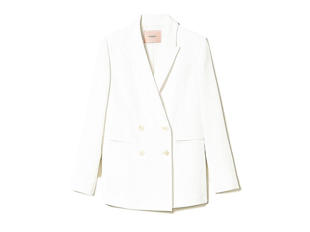blazer-bianco-in-lino-twinset-milano