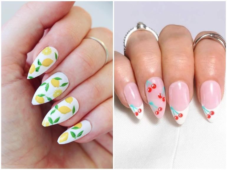 fruit nail art le unghie con la frutta per un'estate colorata e succosa cover mobile