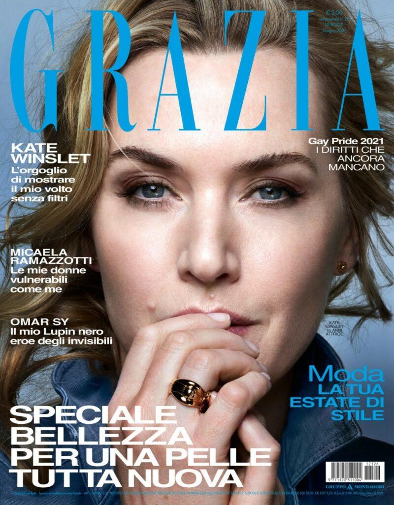 Grazia è in edicola con Kate Winslet
