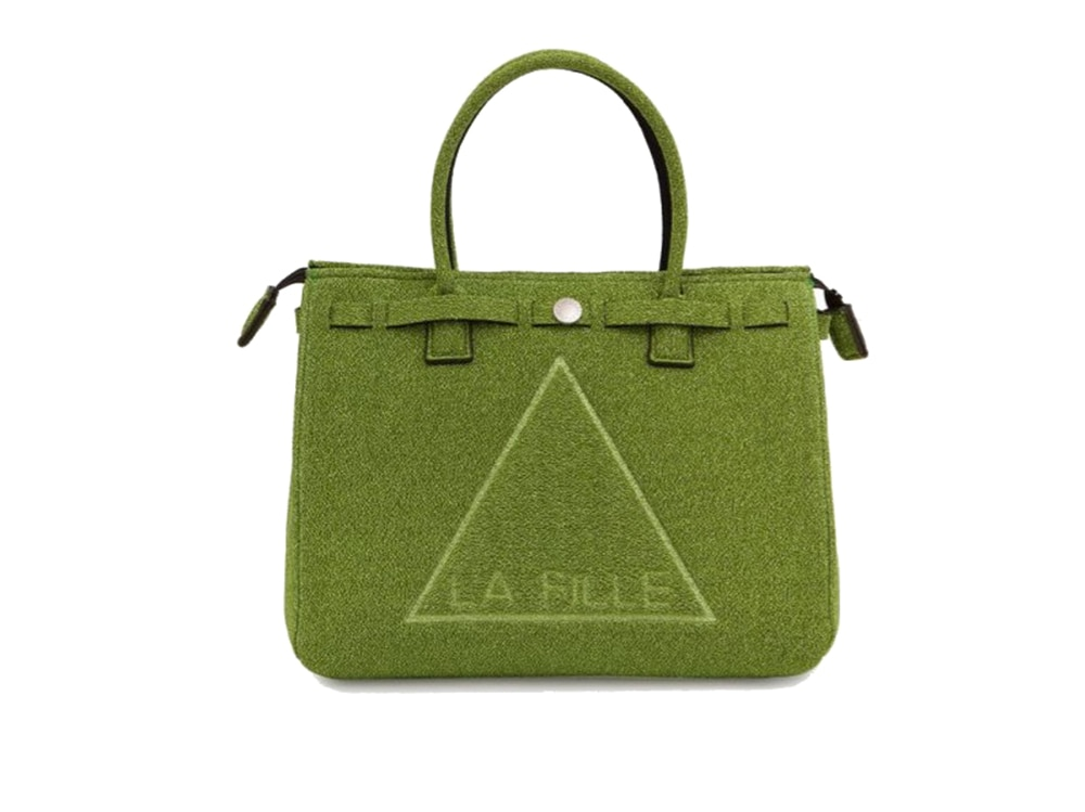 la-fille-des-fleurs-borsa-a-manospalla-in-tessuto-verde-Tecno-Fabric–Lurex