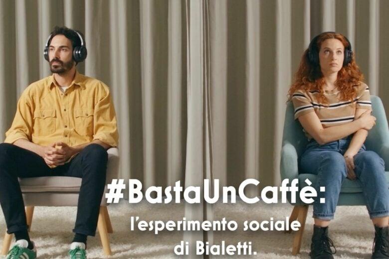 #BastaUnCaffè, al via la campagna digital di Bialetti per far riflettere le persone sul tempo che trascorrono con chi amano
