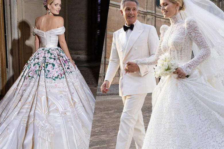 Le nozze (e gli abiti) da sogno di Kitty Spencer