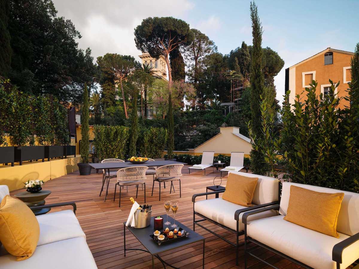 Hotel Eden Roma – Aurora Suite Terrace