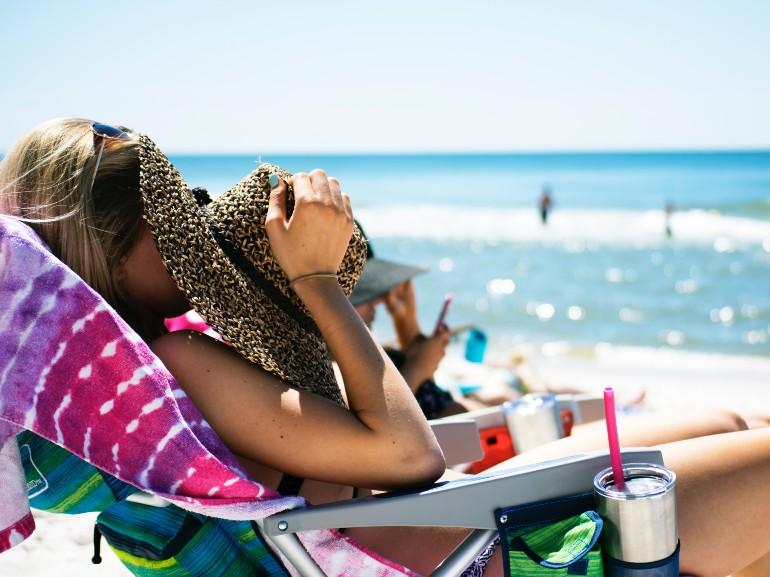 Spiaggia donna 2