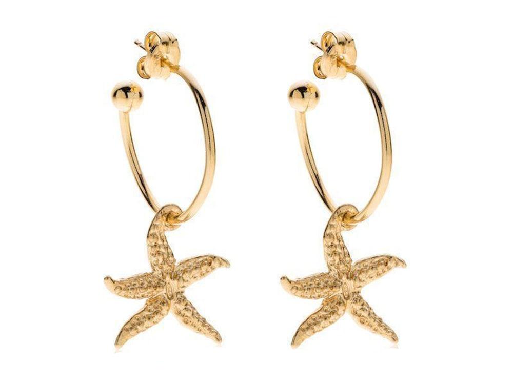 argentoblu_orecchini-cerchio-con-pendente-stella-marina