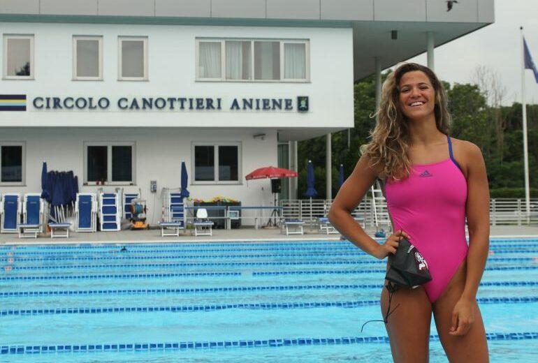 La nuotatrice Rachele Ceracchi: «Una vita di sacrifici. Tornando indietro la rifarei»