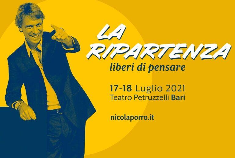 Nicola Porro presenta La ripartenza