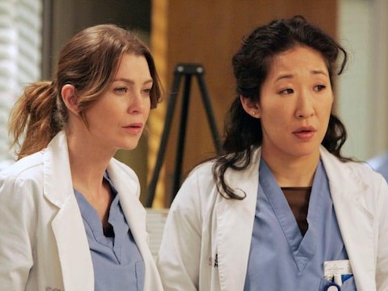 Grey's Anatomy meredith cristina yang
