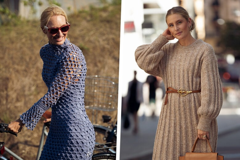 Gli abiti in maglia più belli dell'autunno? Sono questi modelli!
