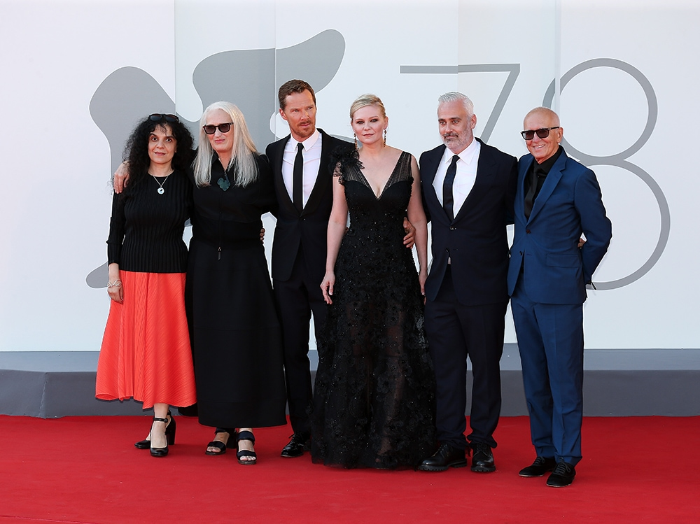 """""""The Power Of The Dog"""" Red Carpet – The 78th Venice International Film Festival"""