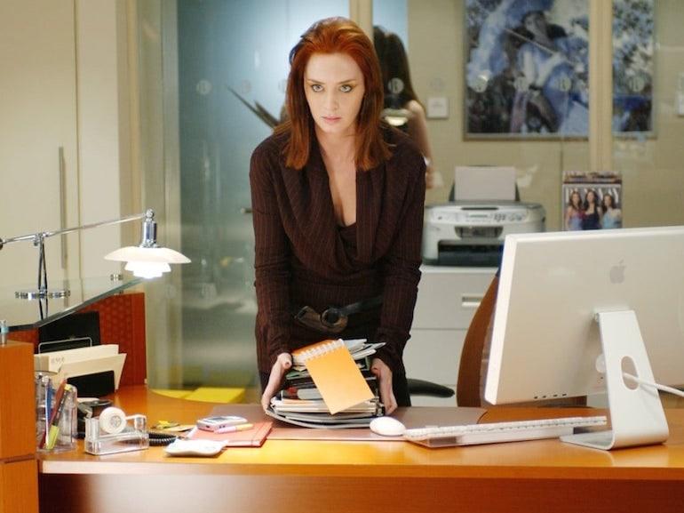 Emily Bunt vestitio marrone