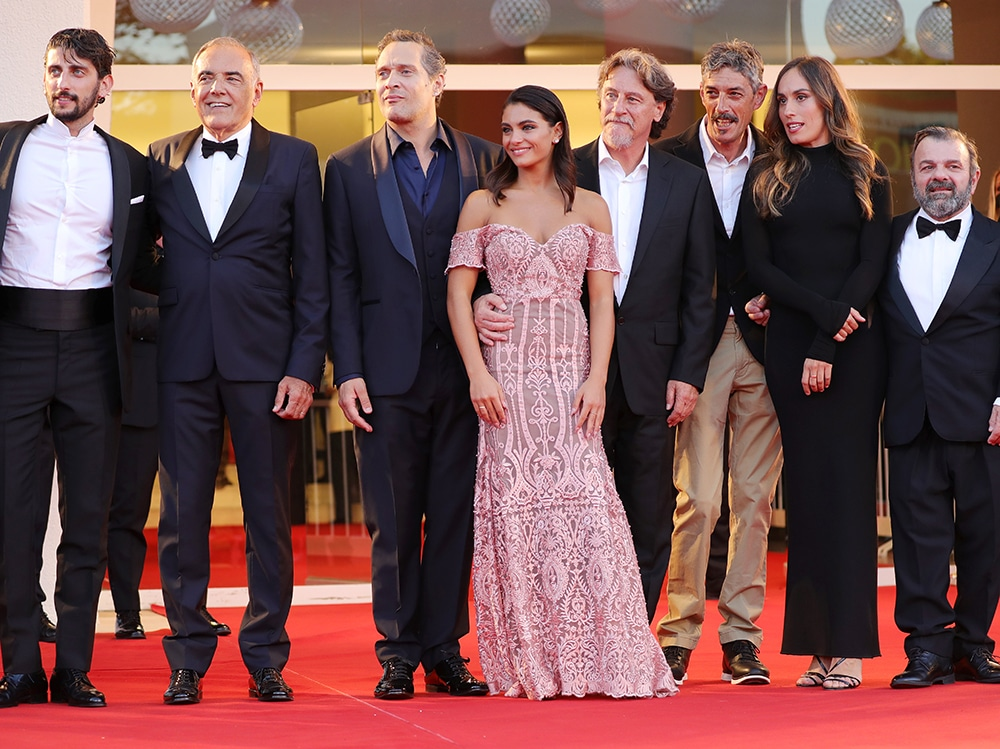 """""""Freaks Out"""" Red Carpet – The 78th Venice International Film Festival"""