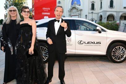 Jane Campion, Nicoletta Braschi and Roberto Benigni (2)
