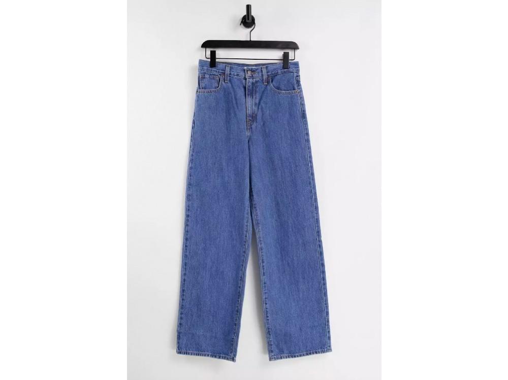 Jeans dritti a vita alta_Levi's-2