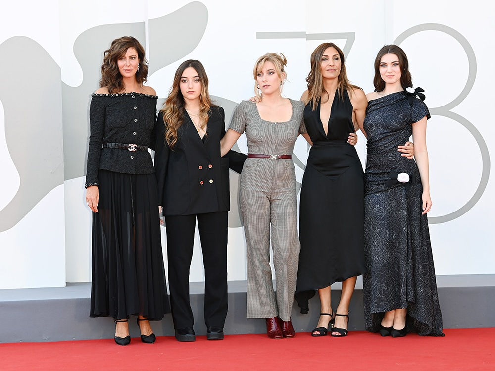 """L'Evenement"" Red Carpet – The 78th Venice International Film Festival"