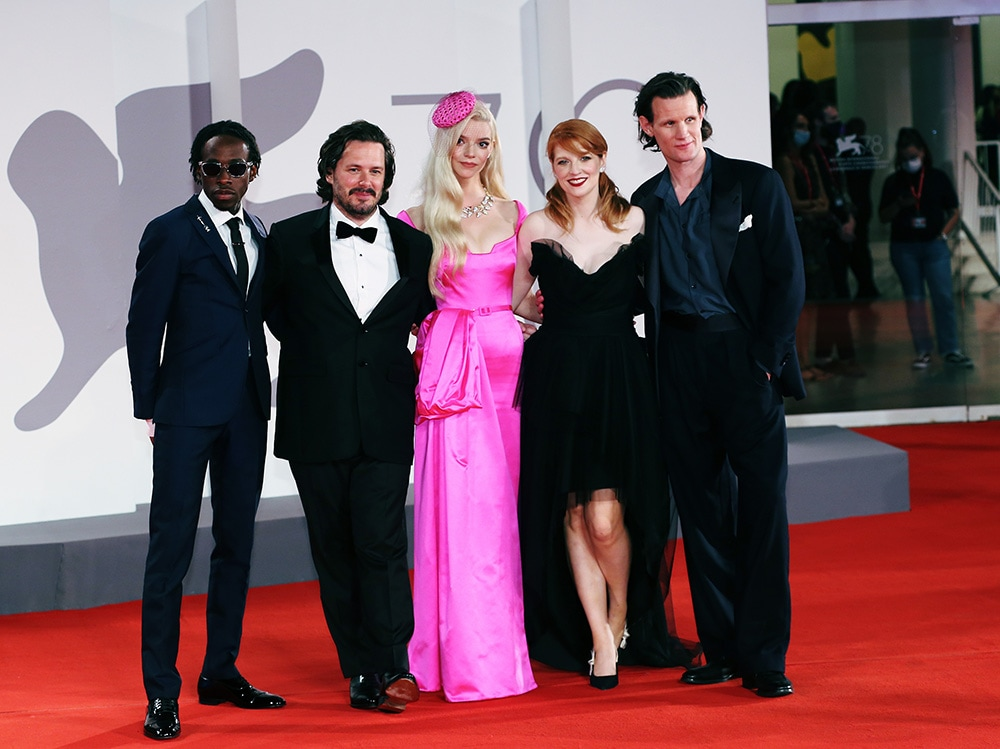 """Last Night In Soho"" Red Carpet – The 78th Venice International Film Festival"
