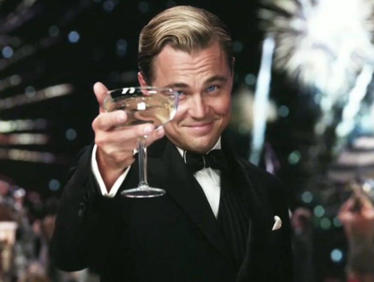 Leonardo Di Caprio festa