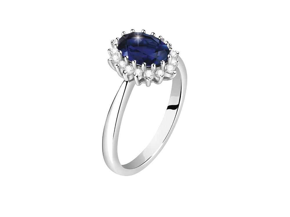 MORELLATO-Anello-Kate-in-oro-bianco-18K-con-zaffiro-e-diamanti-ecologici