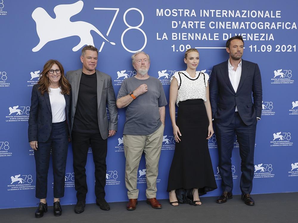 "20th Century Studios' ""The Last Duel"" Photocall – The 78th Venice International Film Festival"