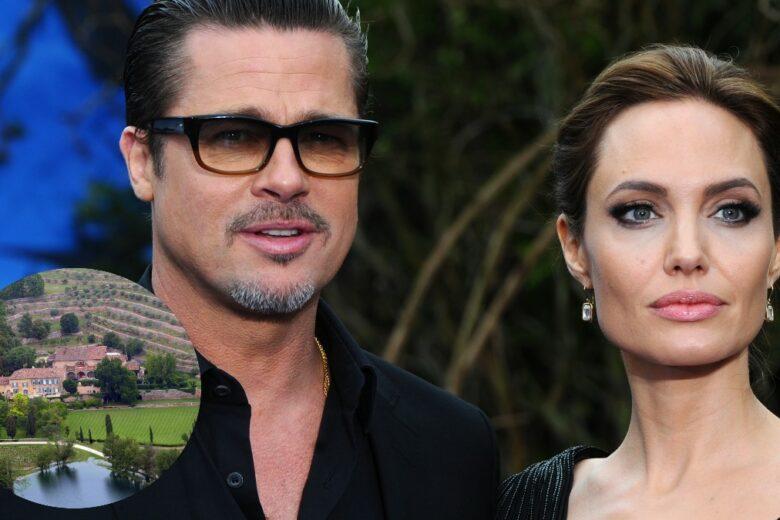 Angelina Jolie e Brad Pitt si stanno litigando 140 milioni di euro