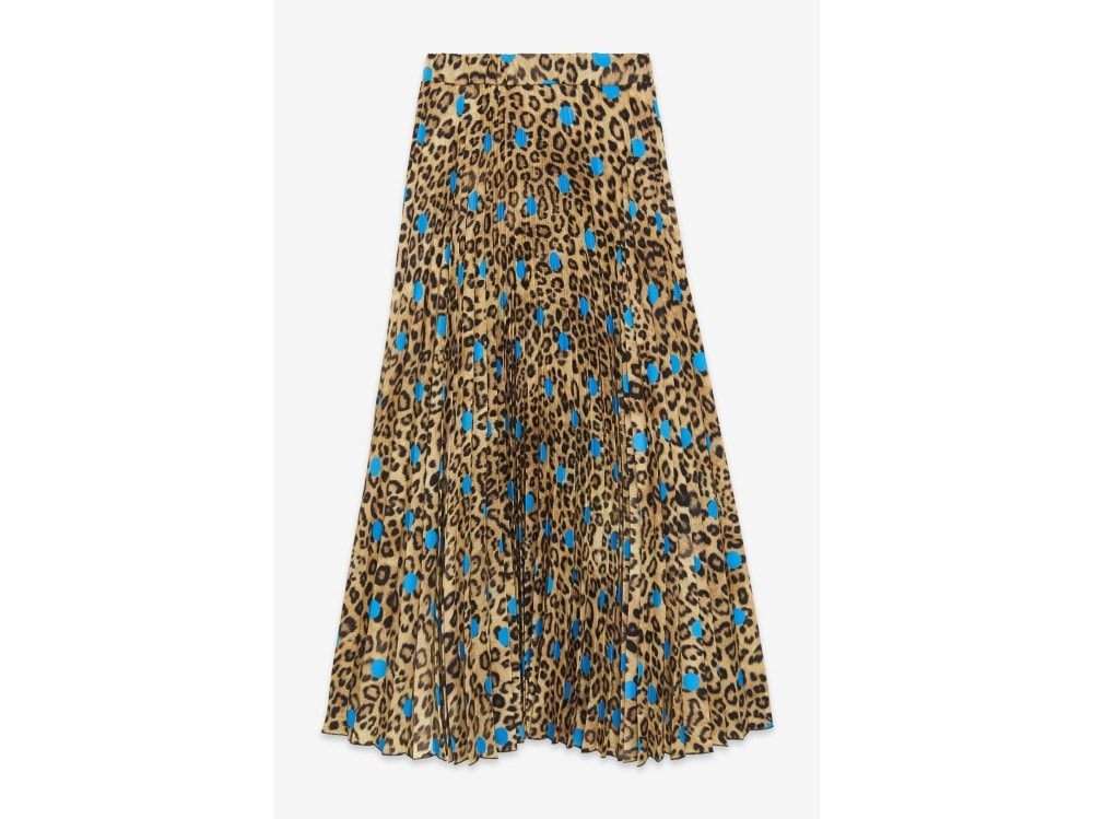 otto d'ame gonna lunga con stampa animalier