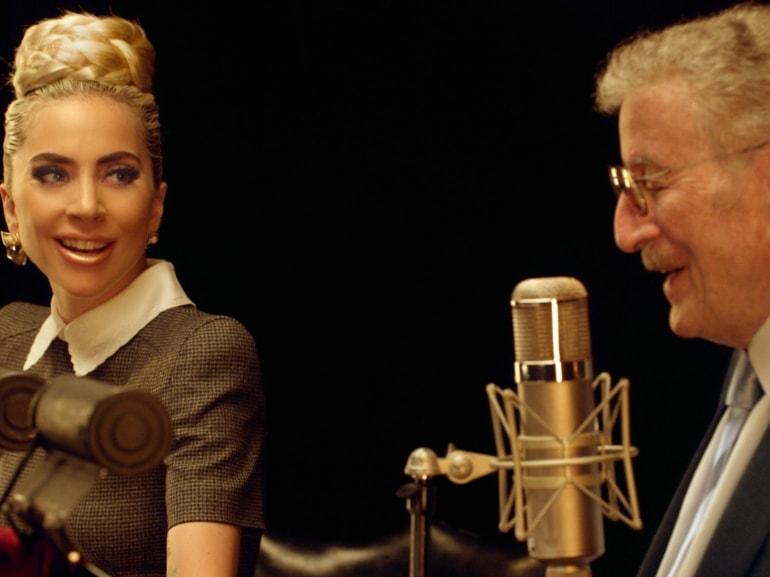 radio montecarlo Tony Bennett Lady Gaga hero piccola