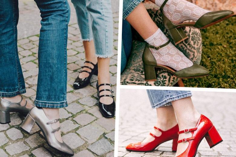 Mary Jane alla riscossa: sono loro le scarpe most wanted del momento