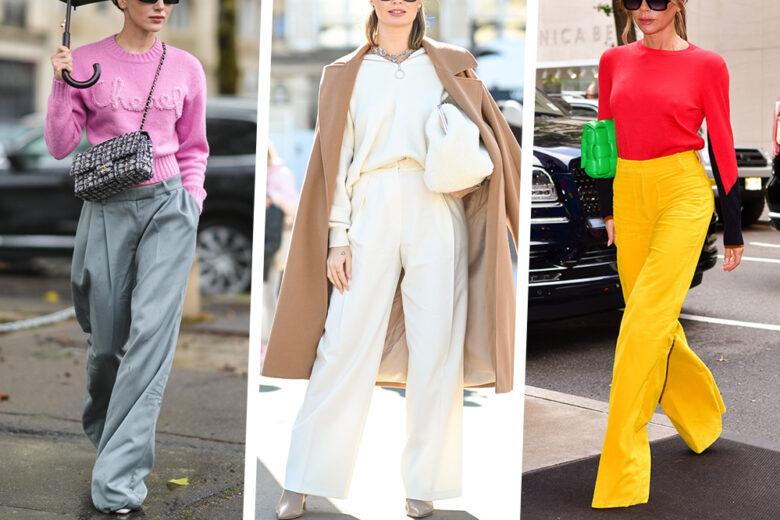 Credete a noi: con questi pantaloni palazzo il vostro autunno-inverno sarà stilosissimo