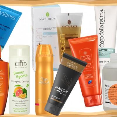 Shampoo doccia: rinfrescarsi dopo una giornata al sole